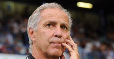 Rene Girard: His Montpellier side crashed to defeat at Gazelec Ajaccio