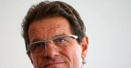 Hopeful: Fabio Capello