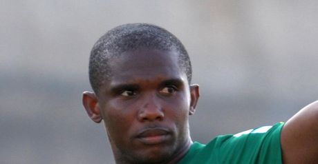 Eto'o: Scored Cameroon's second