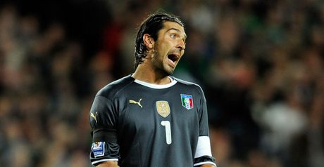 Buffon: Clean sheet