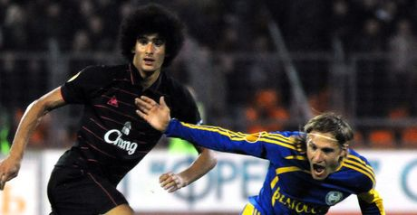 Fellaini: First goal in 14 games