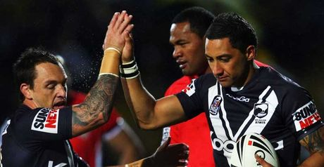 Marshall: Two tries for Kiwis