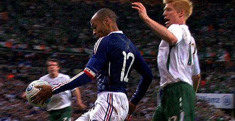 Henry: Clear handball
