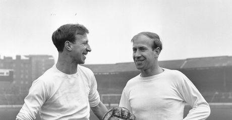Jack and Bobby Charlton: World Cup winners together in 1966