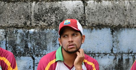 Sarwan: back injury