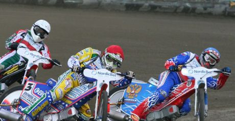 Denis Gizatullin: Big score for Eastbourne (Pic credit Fotospeedway.pl)