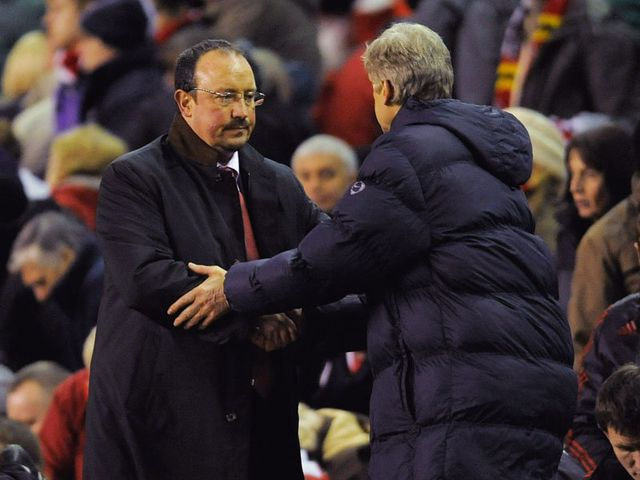 Benitez and Wenger meet again on Sunday