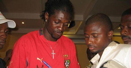 Adebayor: Confirmed Togo's exit
