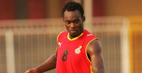 Essien: Joined up with Ghana squad