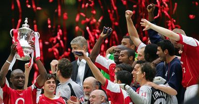 Arsenal: FA Cup winners in 2005