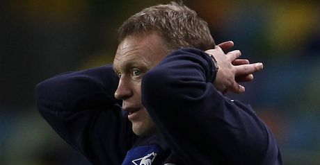 Moyes: Disappointed with display