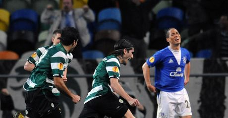 Everton: Dumped out by Sporting