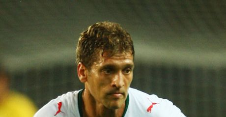Petrov: Earned his 100th cap