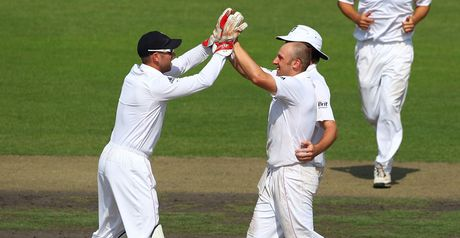 Tredwell celebrates in Dhaka