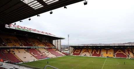 Valley Parade: Unsuitable for play