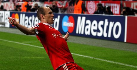Robben: First-leg hero