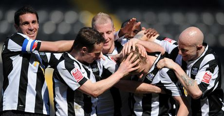 Notts County: Will face Juventus in stadium opener