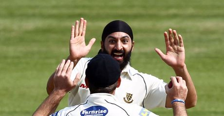 Panesar: struck early on final day
