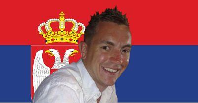 Serbia FanZoner Matt Bright