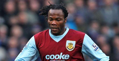 Amougou: Scored Burnley's winner
