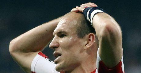 Robben: Suffers injury setback