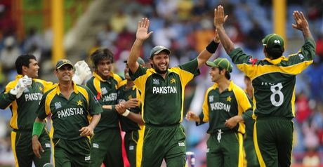 Afridi: Leads Pakistan celebrations