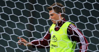 Bendtner: Calm over fitness