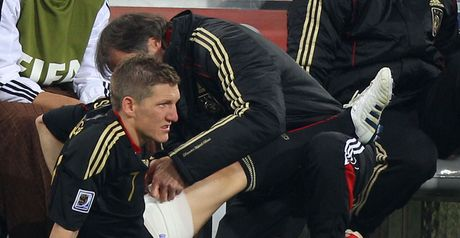 Schweinsteiger: Trained on Saturday