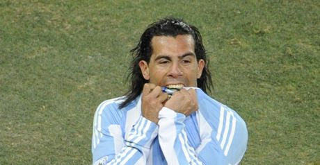 Tevez: Critical of Grondona
