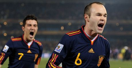 Iniesta: World Cup final beckoning
