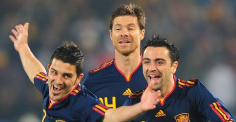 Villa and Xavi: Amongst the contenders