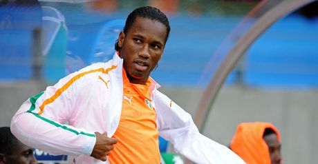 Drogba: Not fully fit