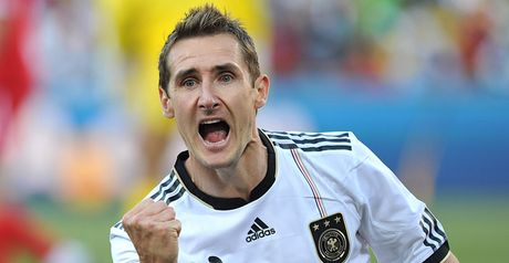Klose: On goal trail