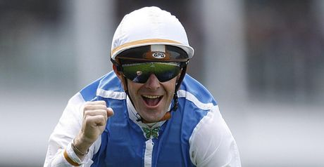 Olivier Peslier was poetry in motion aboard Immortal Verse.