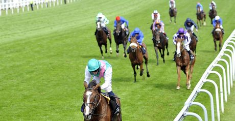 Workforce powers clear to win the Epsom Derby.