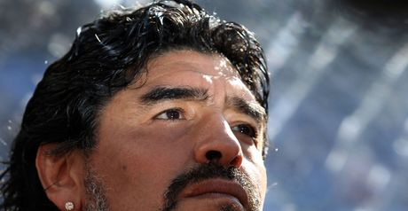 Maradona: Seems certain to steer Argentina through to knockout stages
