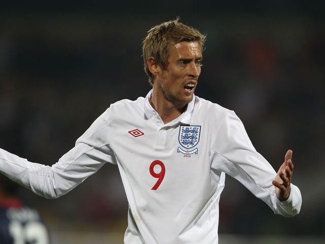Peter Crouch - positive outlook.