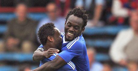 Essien (r): Chelsea focus