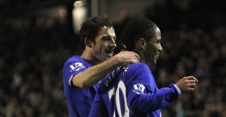 Leighton Baines and Steven Pienaar form a devastating partnership