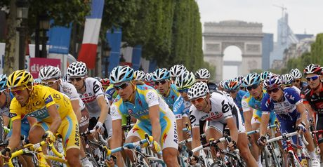 The Champs Elysees will host a Tour de France finale at night-time in 2013