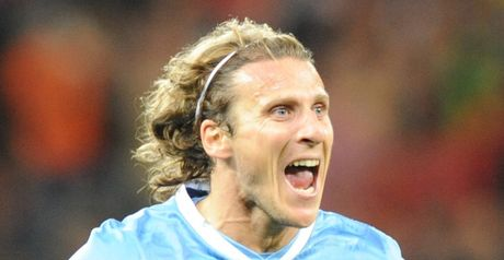 Forlan: Admired by Redknapp