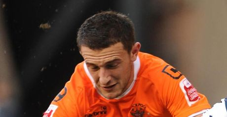 Eardley: Will remain at Blackpool after signing a one-year extension to his contract