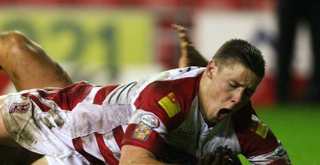 Joel Tomkins: One of four Wigan players