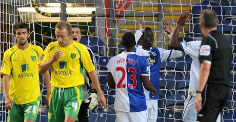 Diouf takes the plaudits at Ewood Park