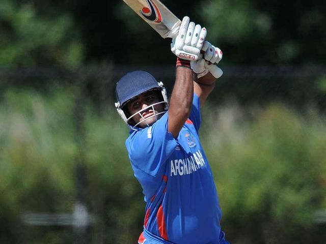Mohammad Shahzad: Hit 55 from 46 for Afghanistan