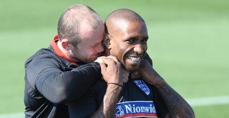 Rooney and Defoe: Have impressed Capello