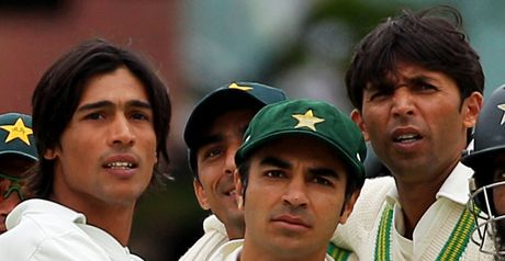Suspended: Amir, Butt and Asif