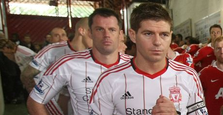 Gerrard and Carragher: Injured