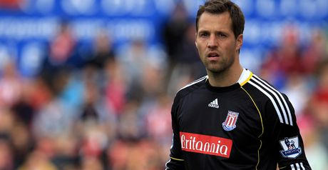 Sorensen: Played in goal for Stoke