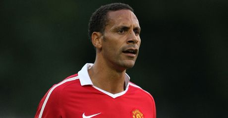 Ferdinand: Tipped to start in Valencia